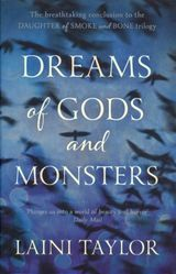 Taylor, Laini : Dreams of gods and monsters