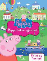 Peppa Gris Peppa leker gjemsel : en let og finn-bok