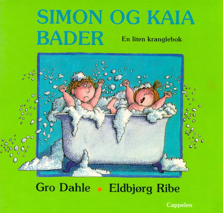 Simon og Kaia bader : en liten kranglebok