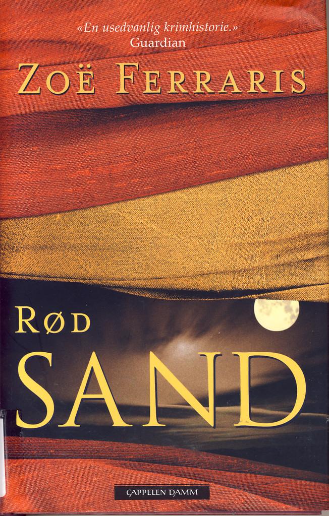 Rød sand