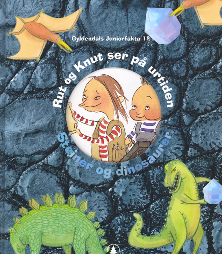 Rut og Knut ser på urtiden : steiner og dinosaurer