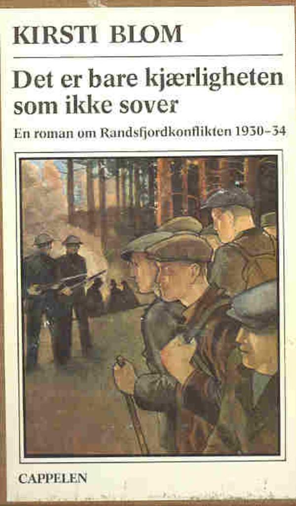 Det er bare kjærligheten som ikke sover : en roman om Randsfjordkonflikten 1930-34