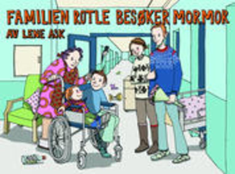 Familien Rotle besøker mormor