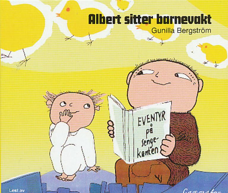 Albert sitter barnevakt