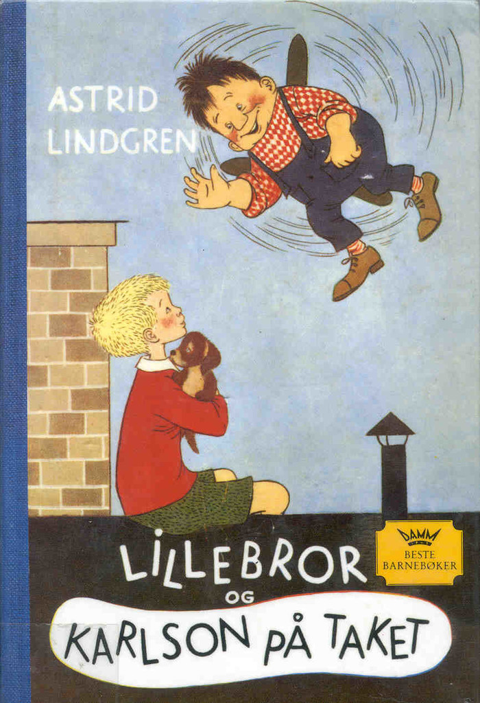 Lillebror og Karlson på taket