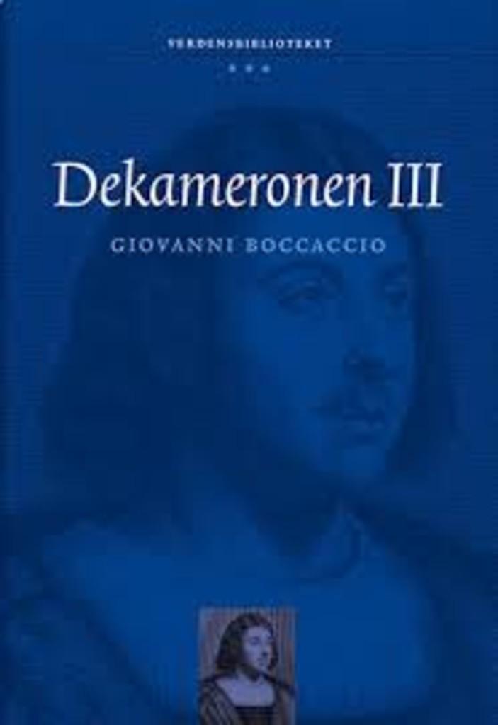 Dekameronen . B. III