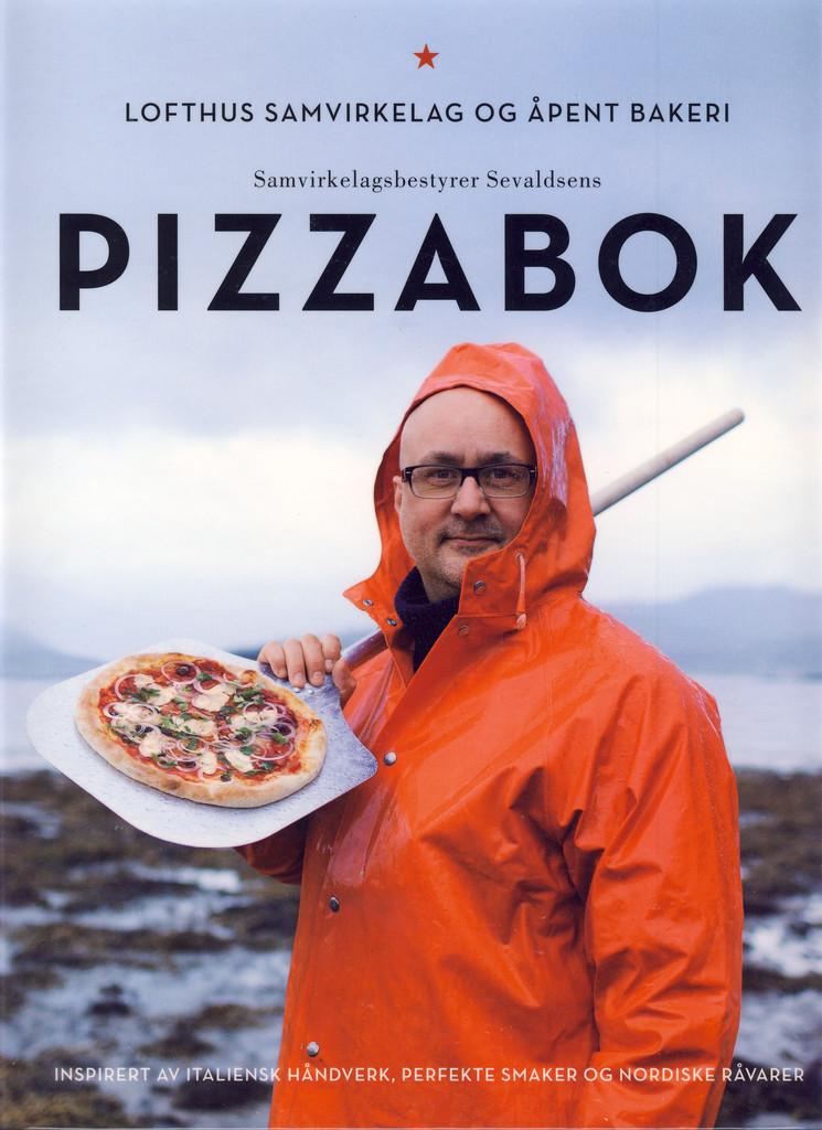 Samvirkelagsbestyrer Eirik Sevaldsens pizzabok