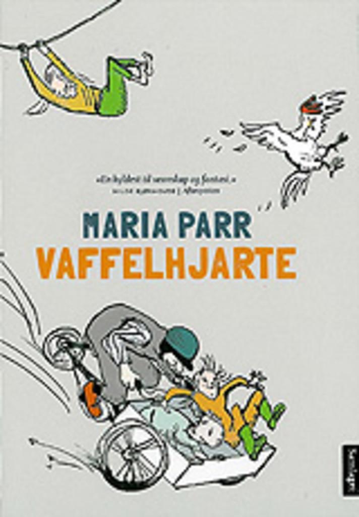 Vaffelhjarte : Lena og eg i Knert-Mathilde