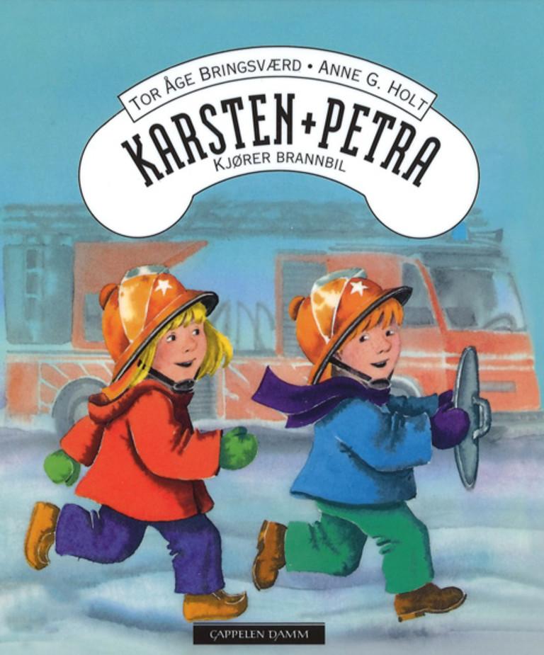 Karsten og Petra kjører brannbil 6