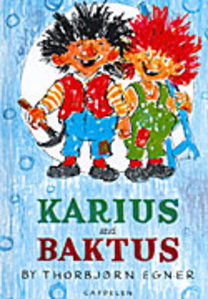 Karius og Baktus (enkeltsidig trykk)