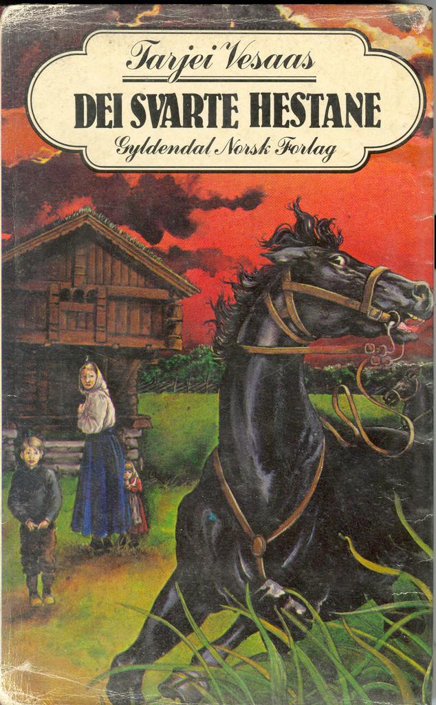 Dei svarte hestane
