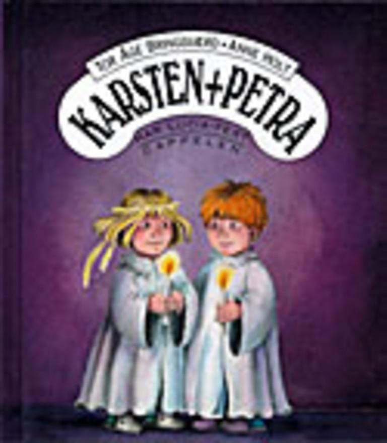 Karsten og Petra har Lucia-fest