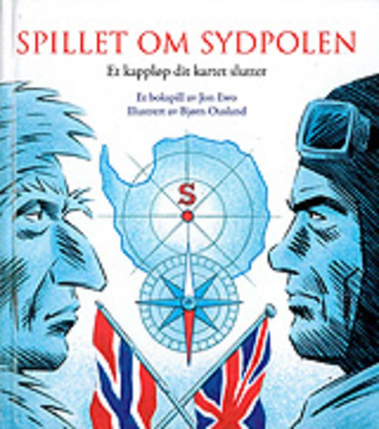 Spillet om Sydpolen : et kappløp dit kartet slutter