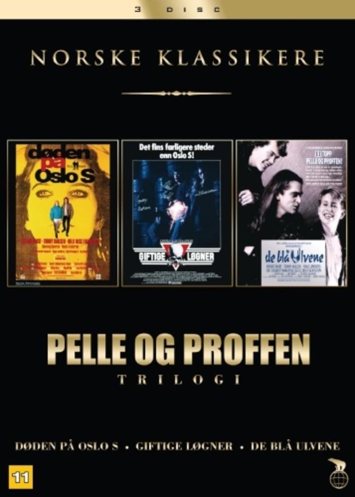 Pelle og Proffen : trilogi