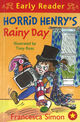Omslagsbilde:Horrid Henry's rainy day