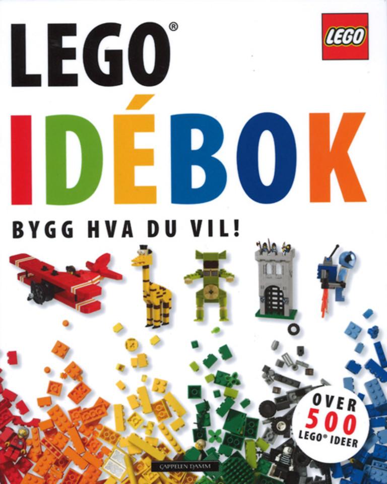Lego idébok : bygg hva du vil!