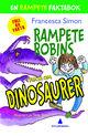 Omslagsbilde:Rampete Robins fakta om dinosaurer