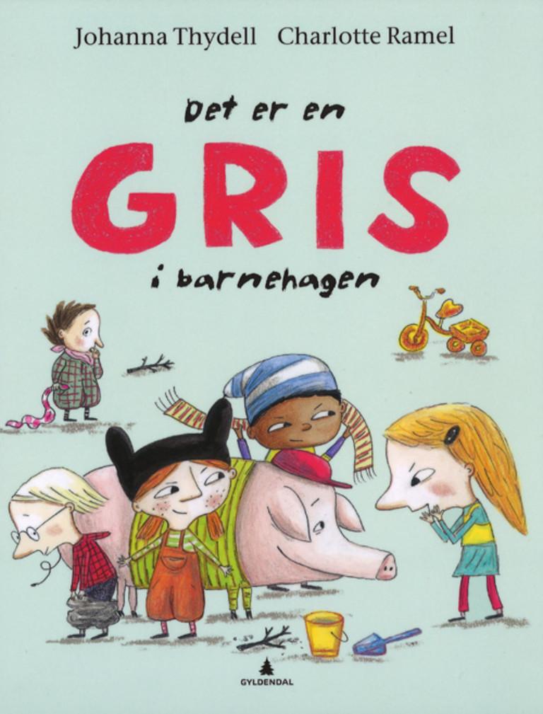 Det er en gris i barnehagen