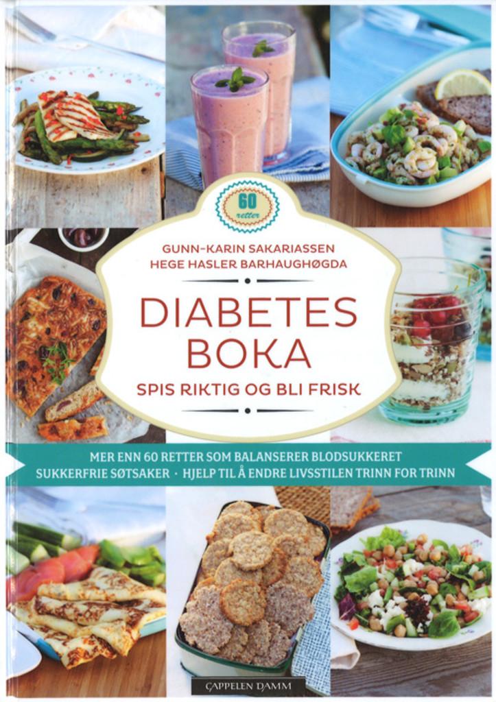 Diabetesboka : spis riktig og bli frisk