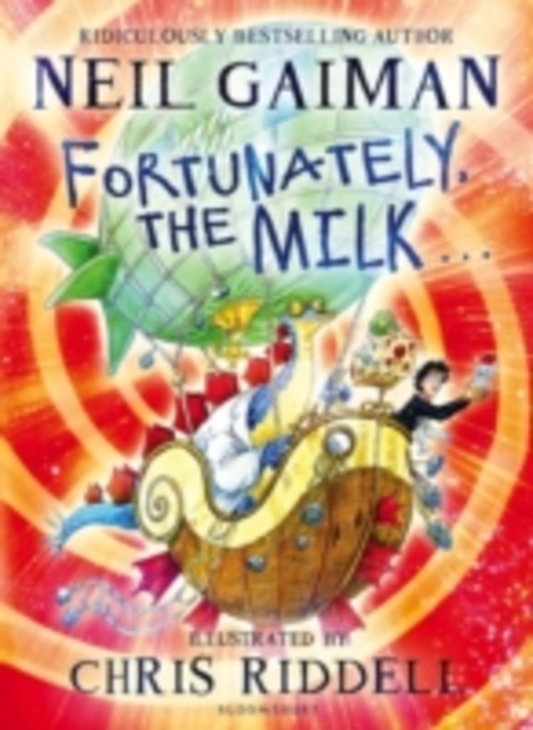 Fortunately, the milk-