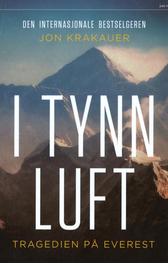 I tynn luft : tragedien på Everest