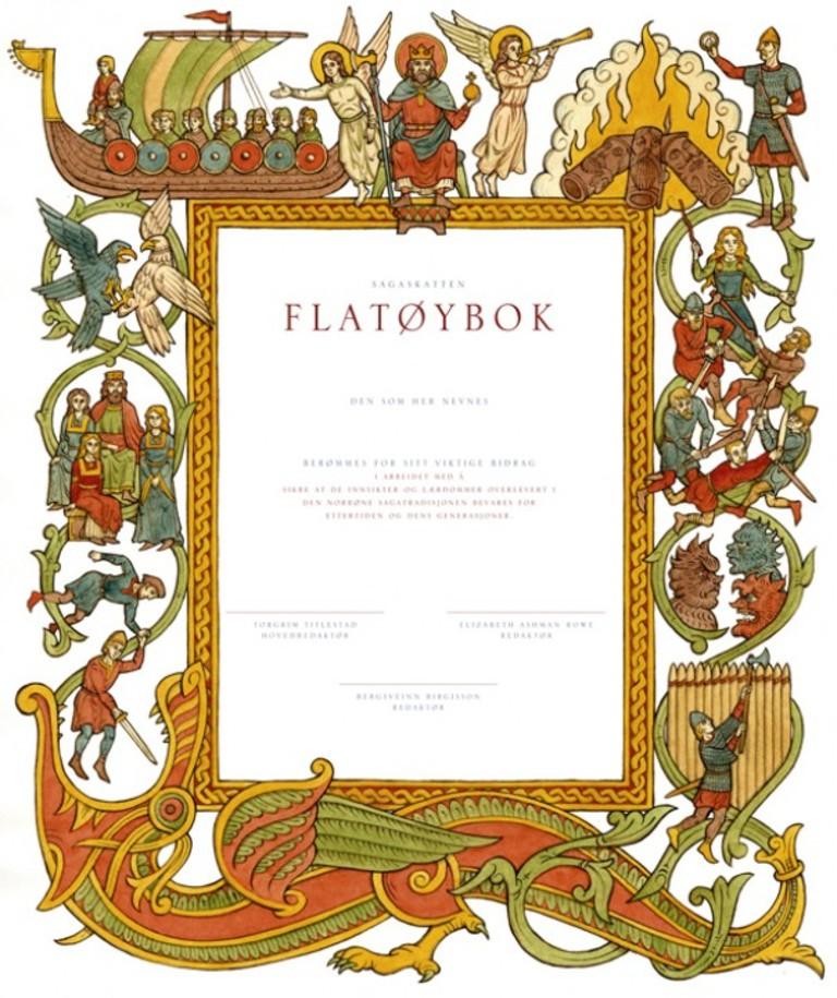 Flatøybok . 1
