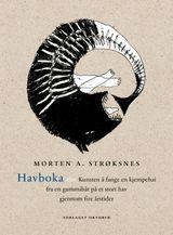 Illustrasjonsbilde for omtalen av Havboka, eller Kunsten å fange en kjempehai fra en gummibåt på et stort hav gjennom fire årstider av Morten Andreas Strøksnes