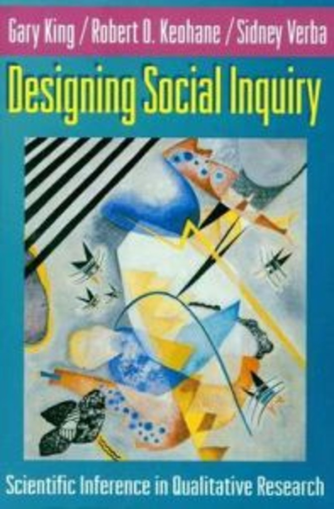 Designing social inquiry : scientific inference in qualitative research