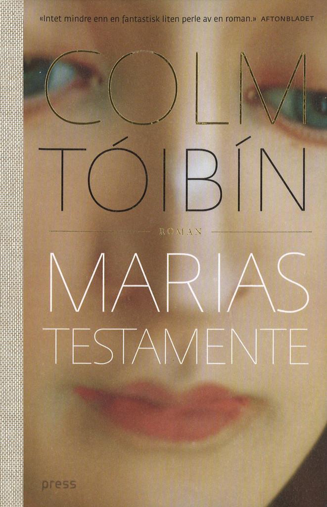 Illustrasjonsbilde for omtalen av Marias testamente av Colm Tóibín