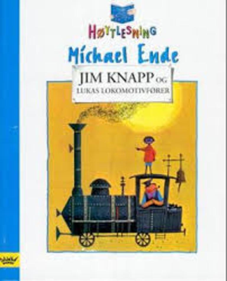 Jim Knapp og Lukas Lokomotivfører