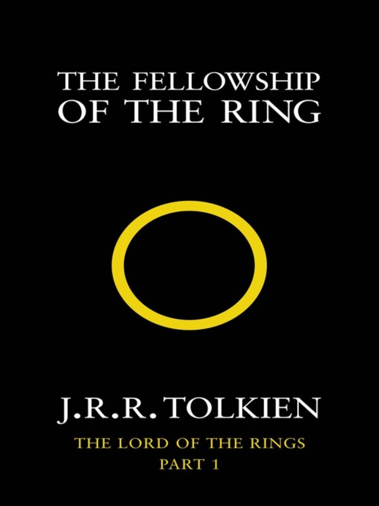 The lord of the rings . 1 . The fellowship of the ring