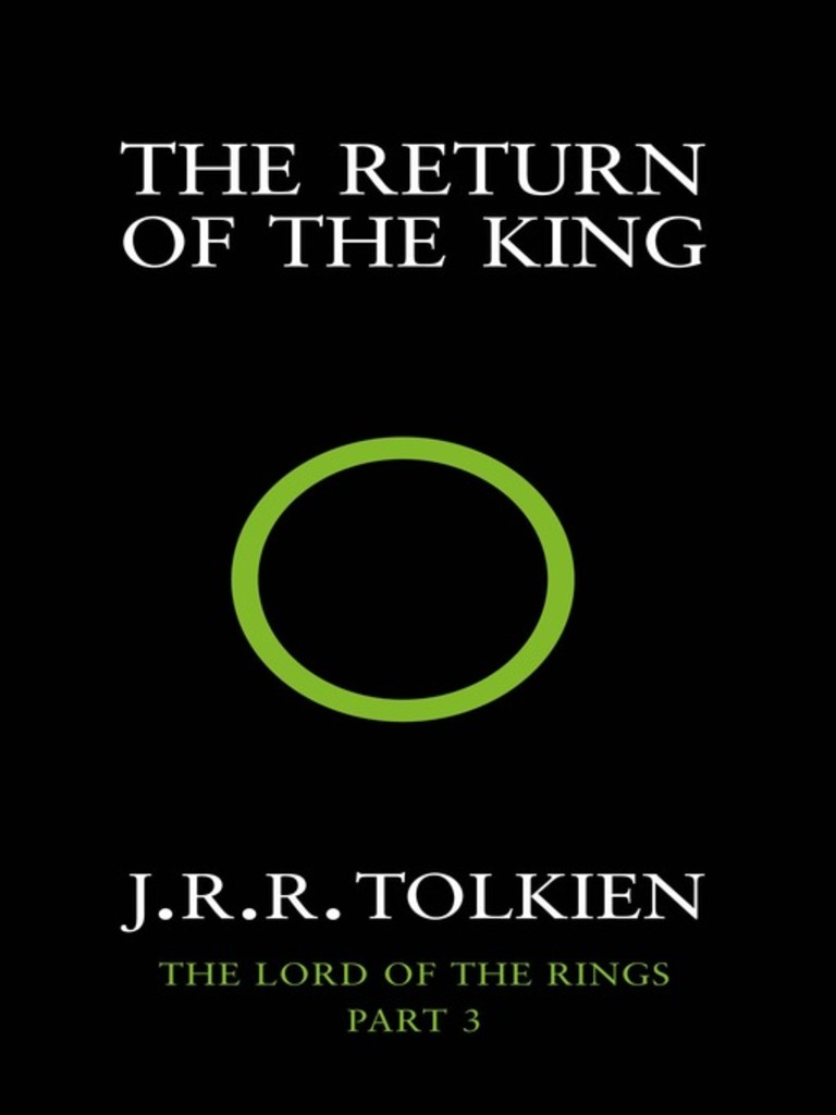The lord of the rings . 3 . The return of the king