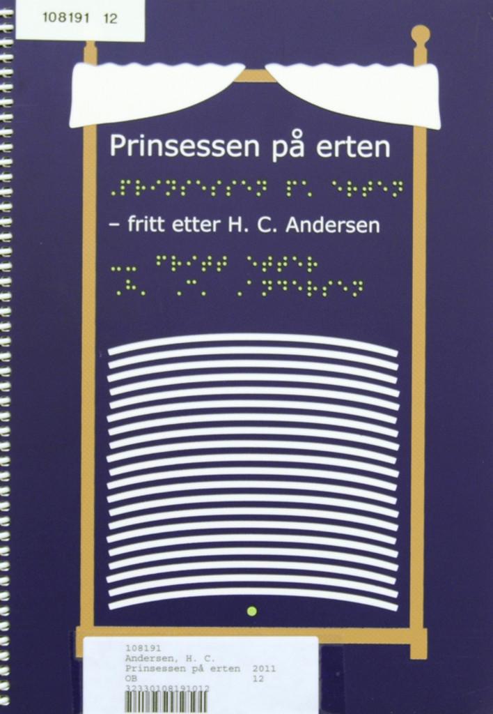 Prinsessen på erten : -fritt etter H. C. Andersen