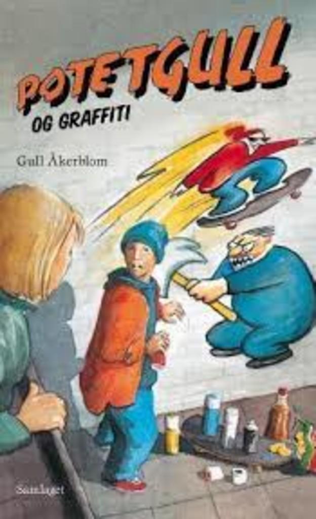 Potetgull og graffiti
