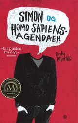 Illustrasjonsbilde for omtalen av Simon og homo sapiens-agendaen av Becky Albertalli