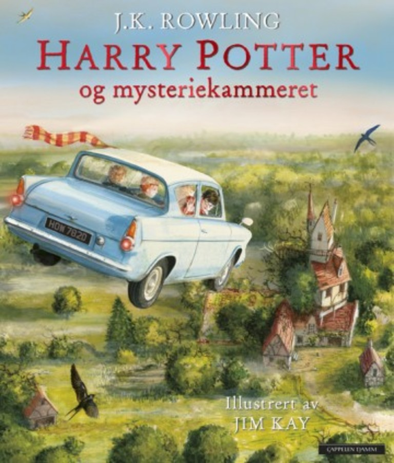 Harry Potter og mysteriekammeret. . 2
