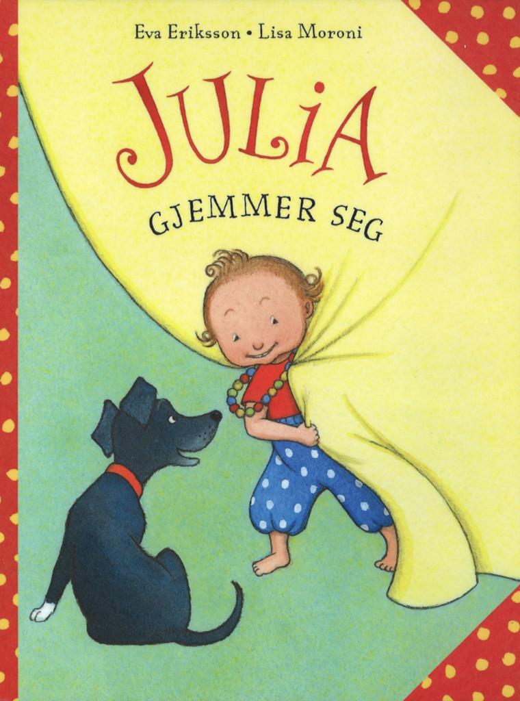 Julia gjemmer seg