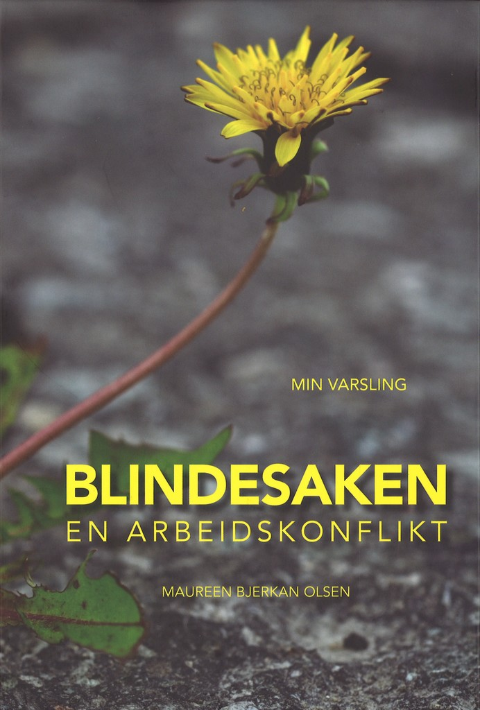 Blindesaken : en arbeidskonflikt
