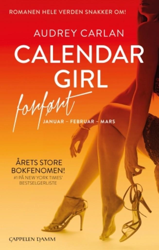 Forført : Januar-februar-mars . 1 . [Calendar girl]