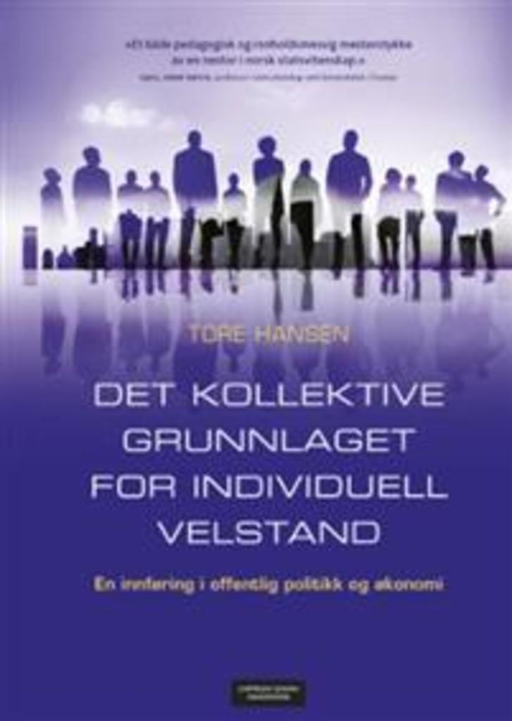 Det kollektive grunnlaget for individuell velstand : en innføring i offentlig politikk og økonomi