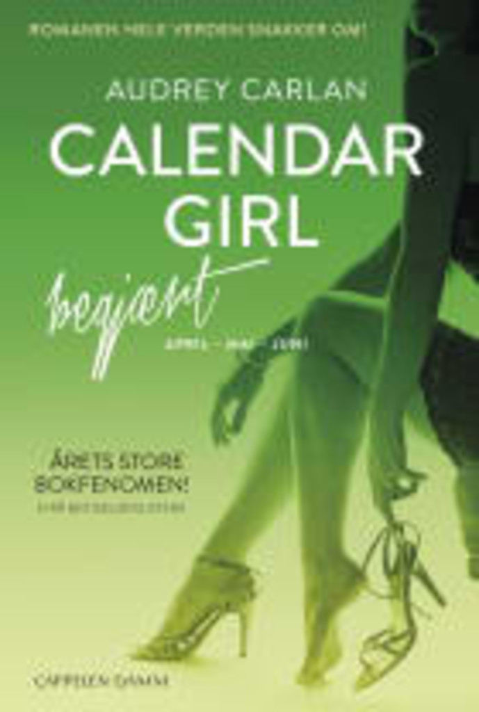 Begjært : April-mai-juni . 2 . [Calendar girl]