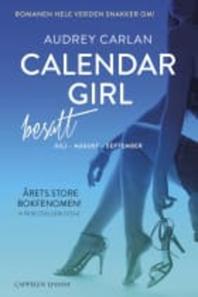 Besatt : Juli-august-september . 3 . [Calendar girl]