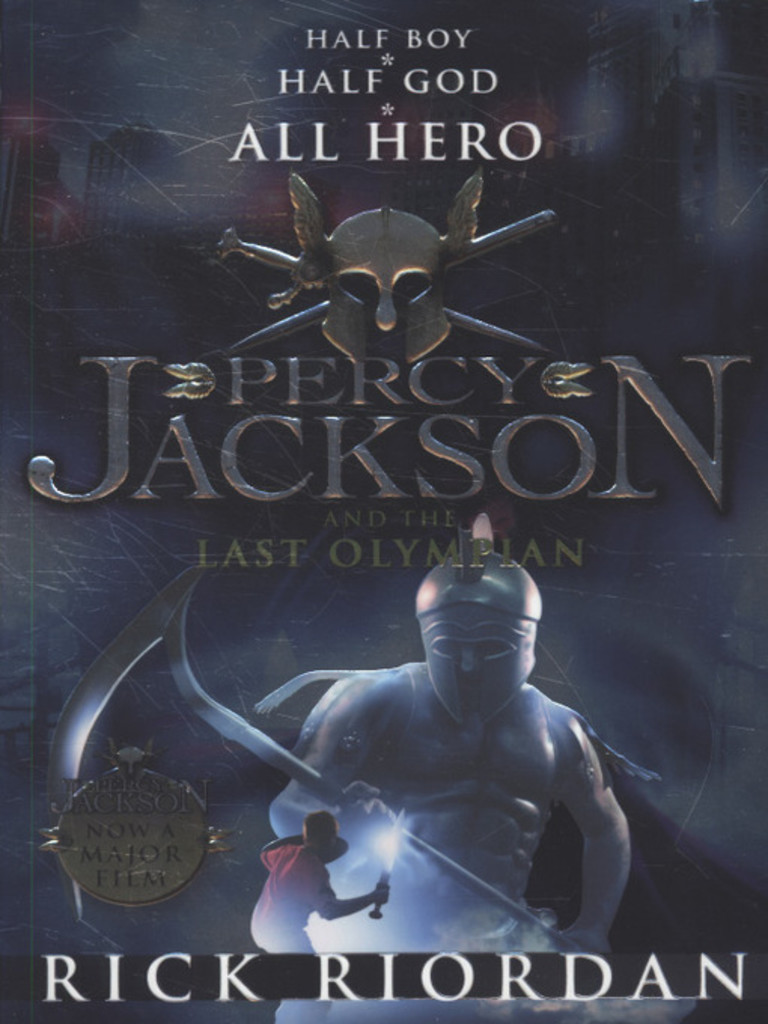 Percy Jackson and the last olympian . 5