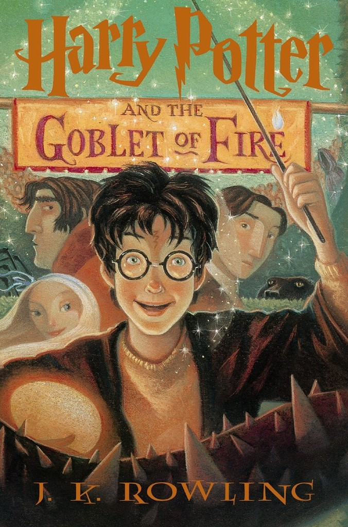 Harry Potter and the Goblet of Fire . 4