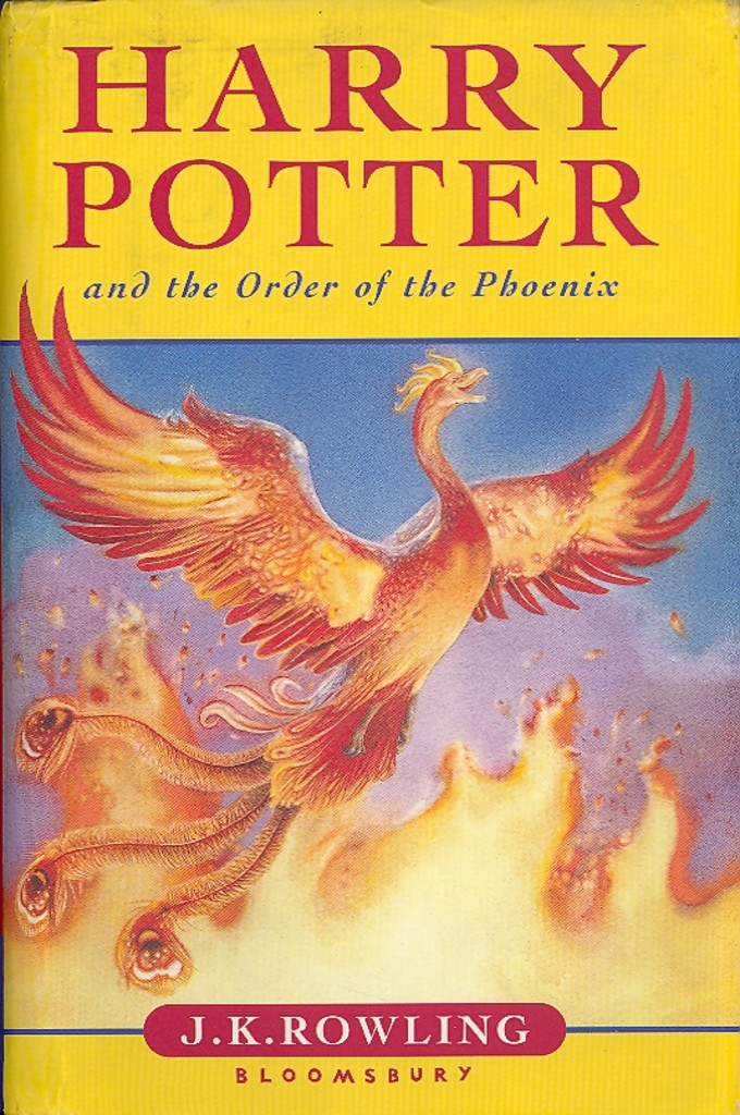 Harry Potter and the Order of the Phoenix . 5