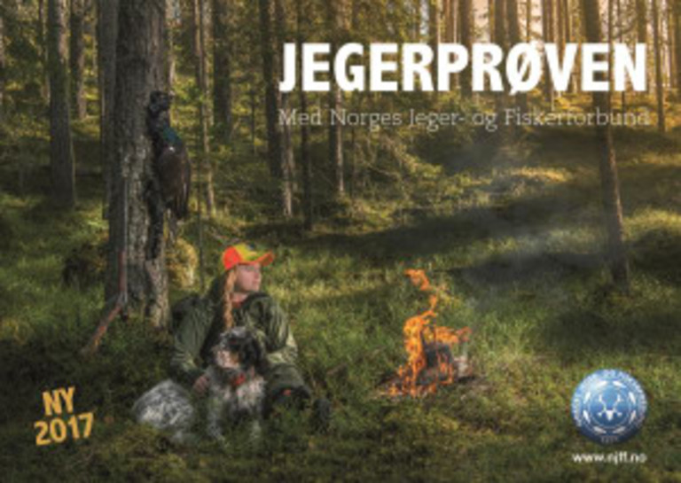Jegerprøven : med Norges Jeger- og Fiskerforbund