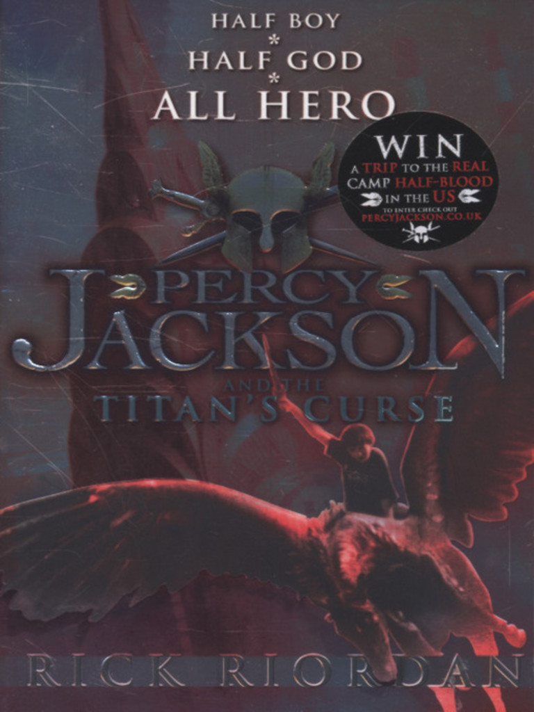 Percy Jackson and the Titans curse . 3