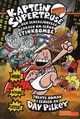 Omslagsbilde:Kaptein Supertruse og den sensasjonelle sagaen om señor Stinkbombe!