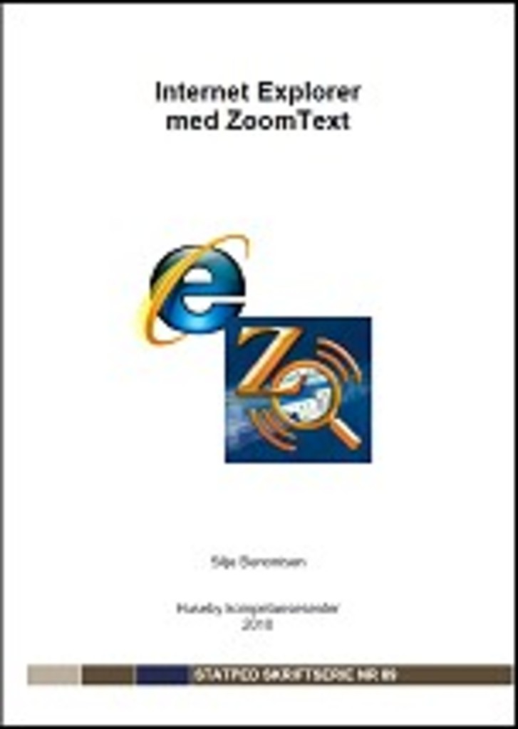 Internet Explorer med ZoomText