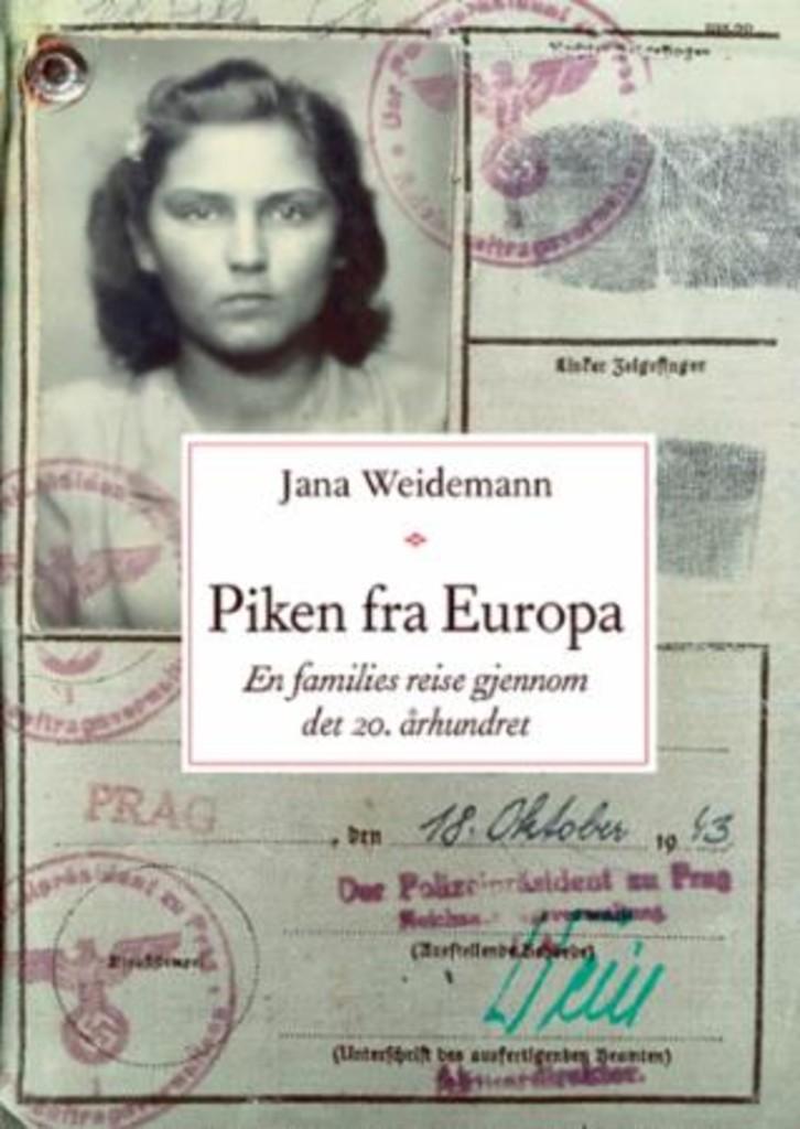 Piken fra Europa : en families reise gjennom det 20. århundret